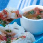 poisson blanc à la vinaigrette de tomate - stylisme culinaire Youcookme