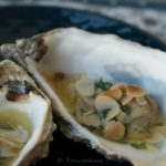 Huîtres persillées au four