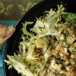 salade frisée avocat graines