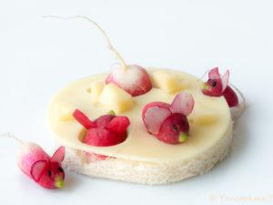 gif animé souris radis fromage youcookme