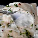 Ravioles de crevettes à la coriandre