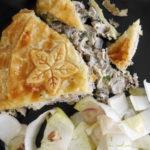 Tourte aux grenouilles - stylisme culinaire Youcookme