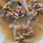 Raviolis de boeuf au bouillon - stylisme culinaire Youcookme