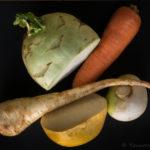 Légumes racines rôtis au citron- stylisme culinaire Youcookme