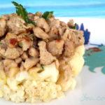 Haché de porc au gingembre et chou fleur - stylisme culinaire Youcookme