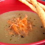 Soupe champignon carotte