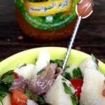 Salade de pommes de terre at makdouss - stylisme culinaire Youcookme