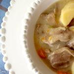 Ragoût de langues d'agneau - stylisme culinaire Youcookme