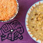 Dahl de lentilles corail - stylisme culinaire Youcookme