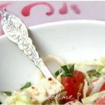 salade de chou au tofu