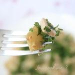Salade tiède d'artichauts au tofu - stylisme culinaire Youcookme
