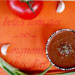 Gaspacho de tomates à l'estragon