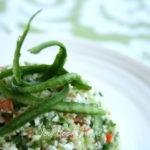 Taboulé de concombre et surimi - stylisme culinaire Youcookme