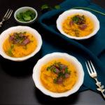 stylisme culinaire : purée potimarron oignon magret canard - Youcookme